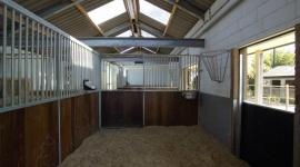Nieuwbouw paardenstal